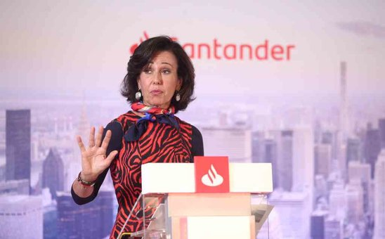A presidenta do Banco Santander, Ana Patricia Botín (Imaxe: Europa Press)