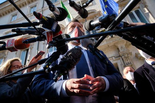 EuropaPress_3636652_08_april_2021_italy_rome_lega_nord_leader_matteo_salvini_speaks_to_the