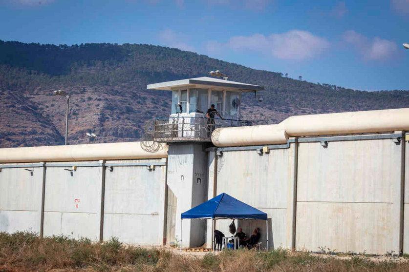 Cárcere de Gilboa o pasado 8 de setembro. (Foto: Ilia Yefimovich / dpa)