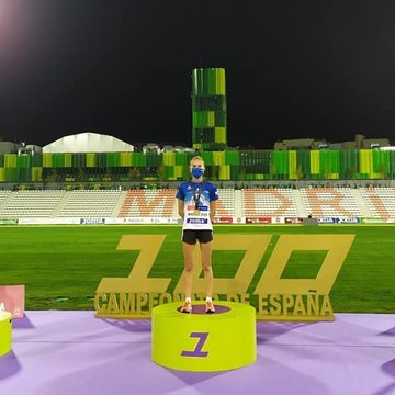 Cinco medallas para Galiza no absoluto estatal de atletismo