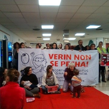 verin chuou marcha mundial mulleres