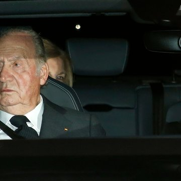 Juan Carlos I era xefe do Estado español en 2012 (Europa Press)