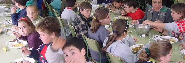 Feijóo finxe ignorar que os comedores escolares se poden ...
