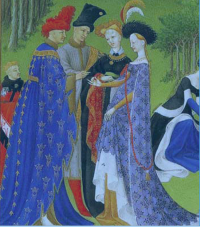"Ilustración do volume ""As moi ricas horas do duque de Berry (1411-1416)"""
